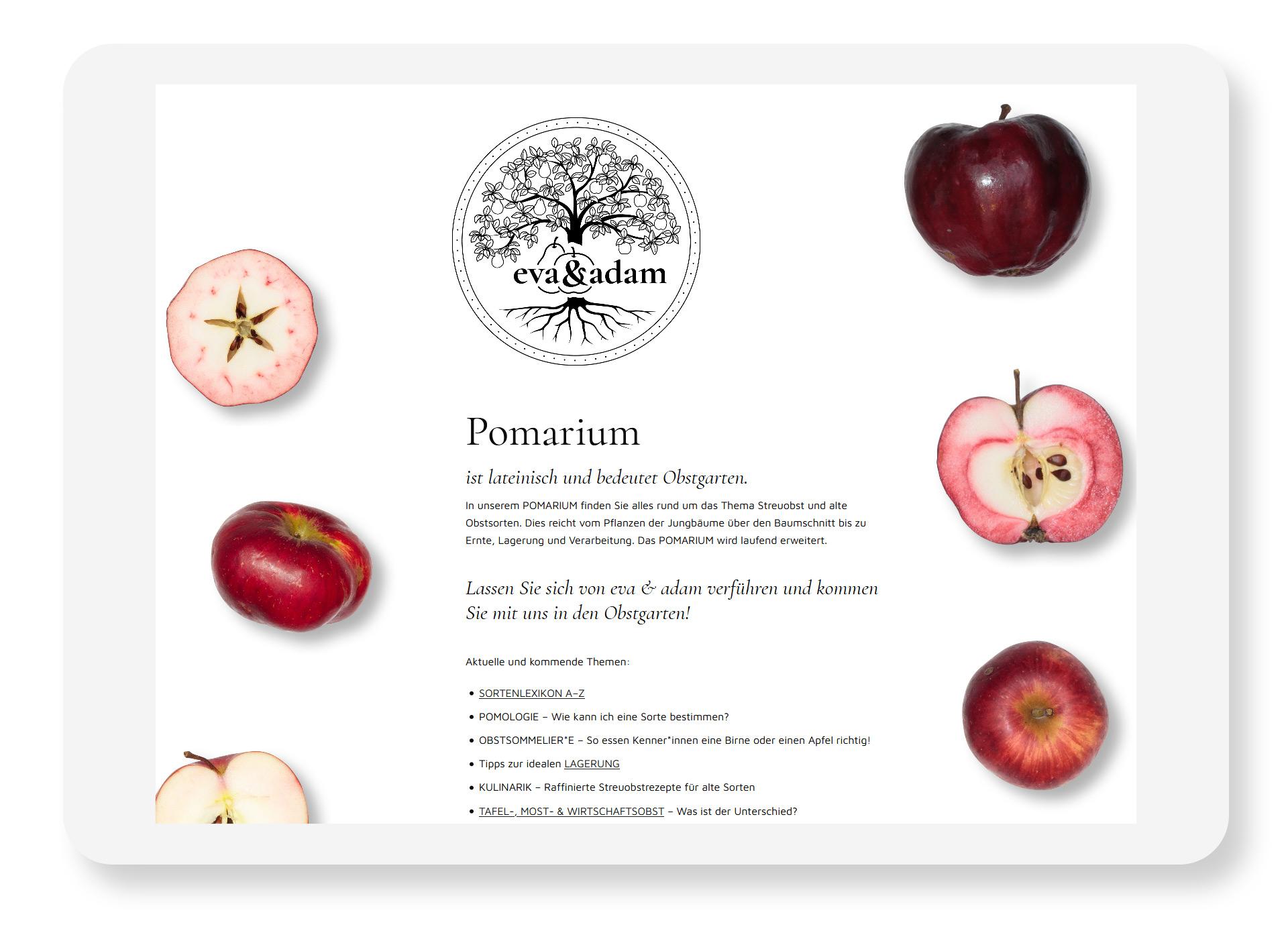 eva & adam Pomarium
